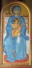 Madre di Dio in trono (cm 60x130)