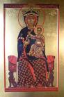 Madre di Dio in trono