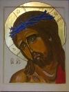 Cristo con corona di spine