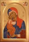 Madre di Eleousa con arcangeli (2010)