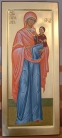 Santa Anna e Maria bambina (icona di misura, 2012)