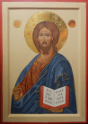 Cristo Pantocrator ( 30 x 42 )