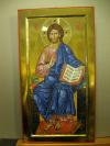 Cristo in Trono (cm 25x46 2014)