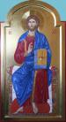 Cristo in trono (2015, cm 40x74)