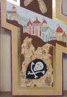 Croce Parrocchia Ss. Angeli Custodi Milano (particolare)