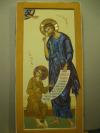 Giuseppe con Gesù (cm 28x57)