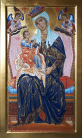 Madonna di Orvieto - da Coppo di Marcovaldo (2019,  37x62 CM)