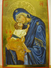 Madre di Dio (da Chora) (cm 20x30, 2014)