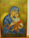 Madre di Dio (da Decani cm 20x30, 2014)