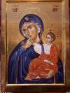 Madre di-Dio della Consolazione (Monastero di Vatopedi, Monte Athos  cm 25x35, 2018))