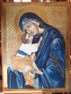 Madre di Dio della tenerezza in Cora