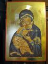 Madre di Dio di Vladimir (cm 20x30, 2014)