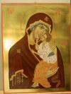 Madre di Dio di Yaroslavl (cm 20x30, 2014)