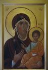 Madre di Dio odigitria (da Ohrid)