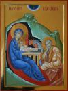 Sacra Famiglia nella Natività, cm 53x40 (2013)