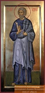 Andrea apostolo (from www.st-alipy.ru/icon/measure/2346/)