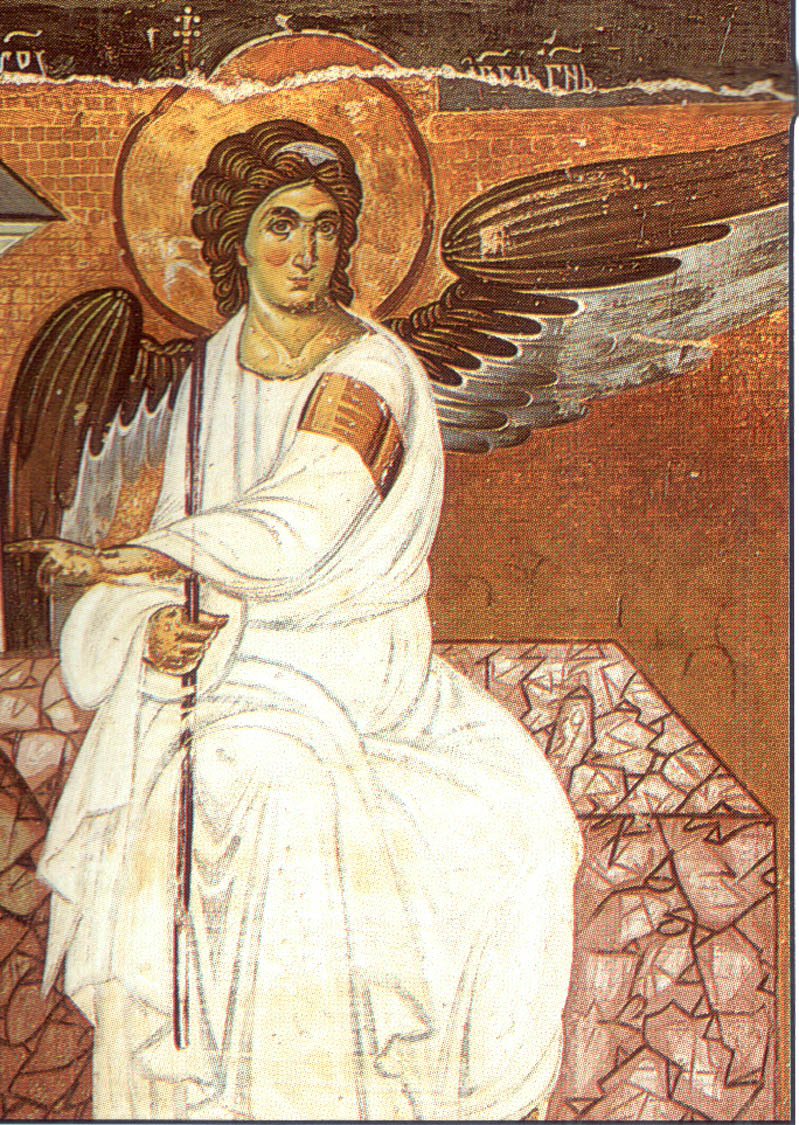 Angelo Bianco, Monastero di Mileševa, Serbia (1235 circa)