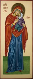 Anna madre di Maria (through the hand of Antonella Pinciroli cm 50x21)