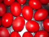 uova rosse per la Pasqua ortodossa