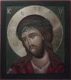 Cristo coronato di spine (per mano di Maria Crespi Marciandi)