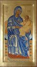 Madre di Dio Basilissa(per mano di Maria Teresa Battilana cm 28x52)