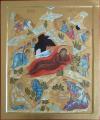 Natale di Cristo (per mano di Maria Teresa Battilana cm 47x57)