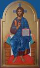 Cristo in trono (per mano di Augusta Daverio)