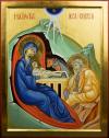 Santa Famiglia nella Nativita (per mano di Antonella Pinciroli)
