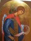 Arcangelo Michele (per mano di Paola Morandi, cm 70x100)