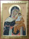Madre di Dio di Konev (della colomba)per mano di Giuliana Scandroglio, cm 51x32)