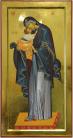 Madre di Dio Eleousa Bizantina (per mano di Lucia Bailoni, cm 30x60)