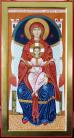Madre di Dio in trono (per mano di Giovanna Ferraboschi)