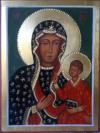 Madonna di Czestochowa (cm 15x20, 2015)