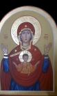 Vergine del Segno (cm 25X35 2017)