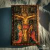 Crucificción-acrílico-sobre-lienzo-10x15cm