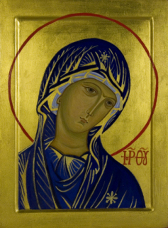 Madre-di-Dio-in-trono-part