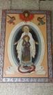 Madre di Dio con san Leopoldo, affresco Santuario San Leopoldo (PD)