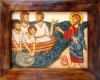 Aparición-de-Cristo-resucitado-junto-al-mar-de-Tiberiades-Románico-bizantino-42x34-min