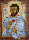 Hermanito-Carlos-de-Jesús-icono-temple-al-huevo-12x22-min
