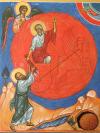 Ascesa del profeta Elia sul carro di fuoco 2010