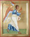 Annunciazione: arcangelo Gabriele (2008, cm 30x37) through the hand of Giuliano Melzi