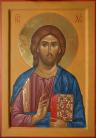 Cristo Salvatore del Chilandari (2012, cm 30x43, 2012)  through the hand of Giuliano Melzi