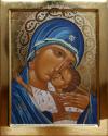 """Madre di Dio """"Eleousa"""" (2011, cm 30x37,5, 2011)  througn the hand of Giuliano Melzi"""