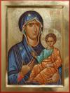 Madre di Dio (da Ohrid (2015, cm 30x40)  through the hand of Giuliano Melzi