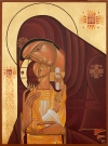 THE THEOTOKOS OF TENDERNESS (40x30)