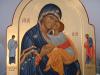 Madre di Dio Eleousa (da Decani) con santi Luigi e Paolo