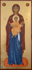 Madre di Dio con Gesu salvatore