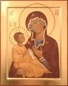 Madre di Dio Odighitria (cm 27x33, 2010)