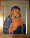 Madre di Dio del Carmine (la Bruna cm 32x40, 2010)