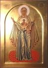 Madre di Dio del segno (cm 23x33, 2010)
